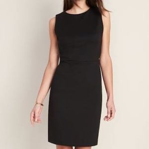 Laura Petites Sleeveless black dress